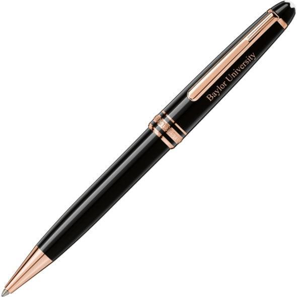 Baylor University Montblanc Meisterstück Classique Ballpoint Pen in Red Gold