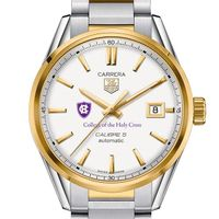 Holy Cross Men's TAG Heuer Two-Tone Carrera with Bracelet