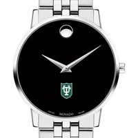 Tulane Men's Movado Museum with Bracelet