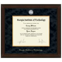 Georgia Tech Excelsior Diploma Frame Image-1 Thumbnail
