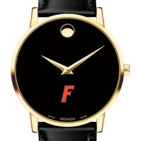 Florida Men's Movado Gold Museum Classic Leather