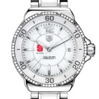 NC State Women's TAG Heuer Formula 1 Ceramic Diamond Watch