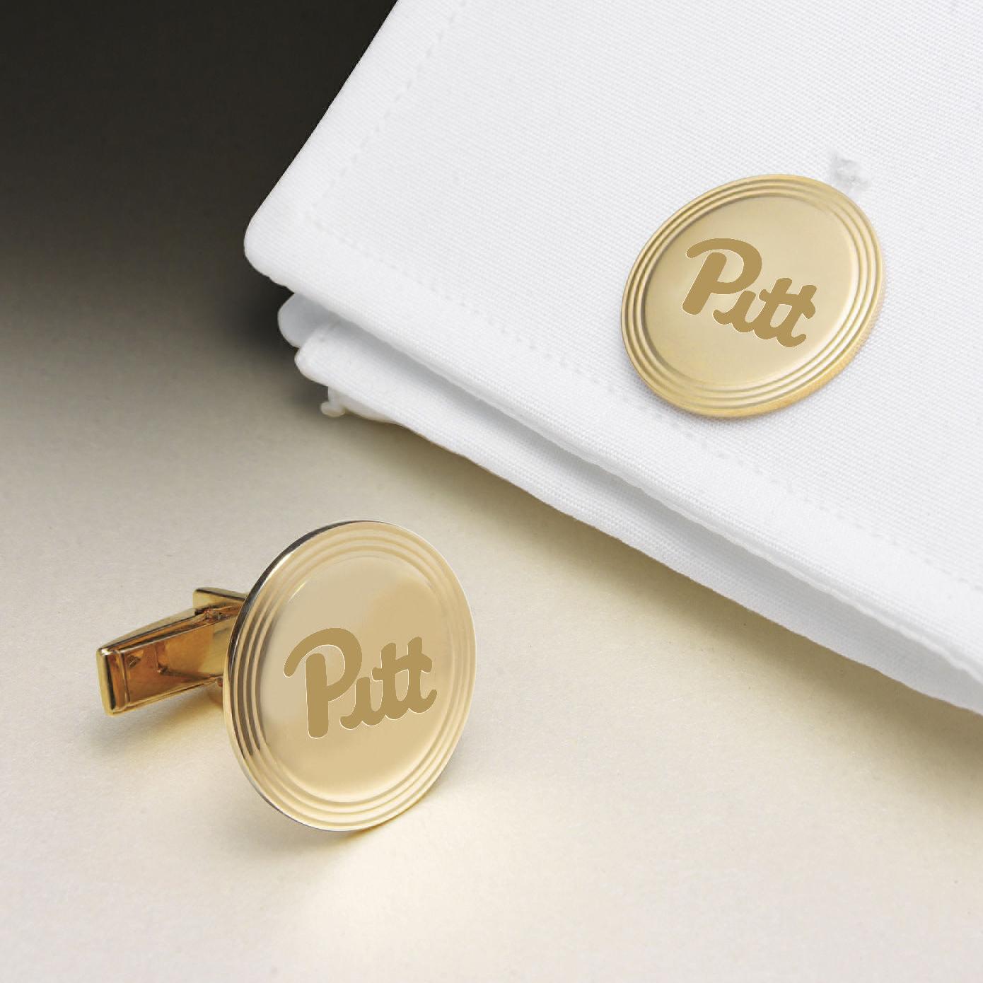 Pittsburgh 18K Gold Cufflinks