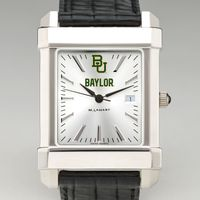 Baylor Men's Collegiate Watch with Leather Strap