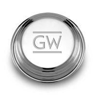 George Washington Pewter Paperweight