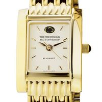 Penn State Women's Gold Quad Watch with Bracelet