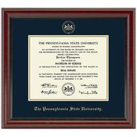 Penn State Fidelitas Diploma Frame