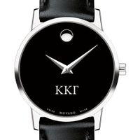 Kappa Kappa Gamma Women's Movado Museum with Leather Strap Image-1 Thumbnail